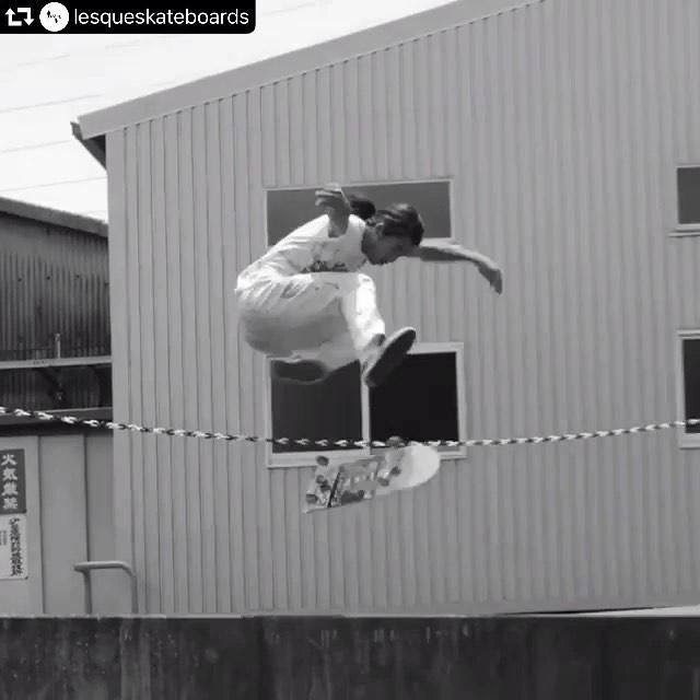Hippy tre️️#repost @lesqueskateboards・・・@yufuckingdie @instant_skateboard_shop #lesqueskateboards