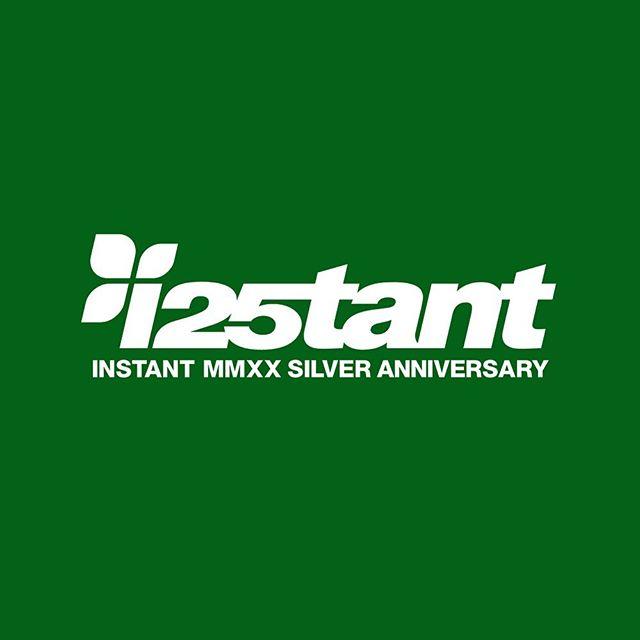 INSTANTは2020年4月1日の本日をもちまして創業25周年を迎えさせていただくことができました。いつも本当にありがとうございます。これからも皆さまと一緒に充実したスケートライフが送れるように邁進してまいります。#i25tant#instanturayasu#instantskateshop