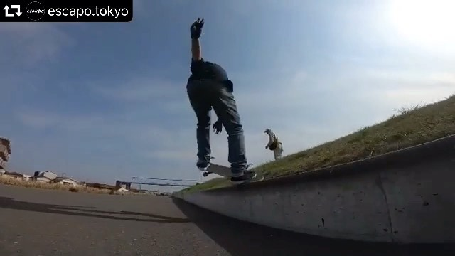 #repost @escapo.tokyo・・・ @masahisayamaguchi #スケボー #escapotokyo #skatebag #skateboard