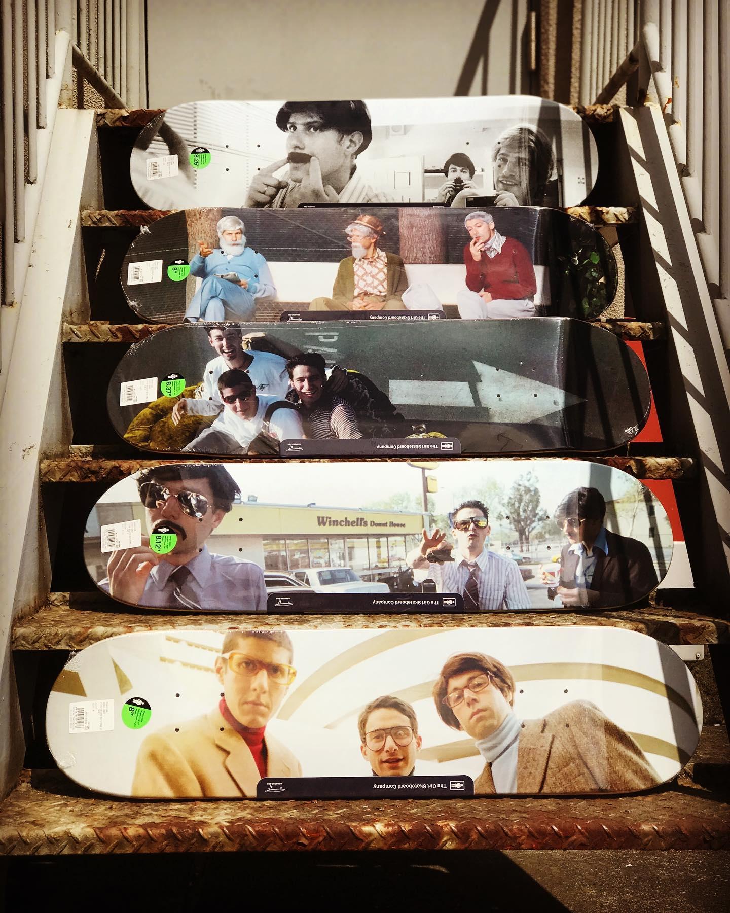 @girlskateboards  The new Beastie Boys Spike Jonze collection SIZE:上から8.25&8.5/8&8.25/8.37&9/8.12&8.37/8&8.5inch#GirlSkateboards#BeastieBoysStory@beastieboysstory#SpikeJonze