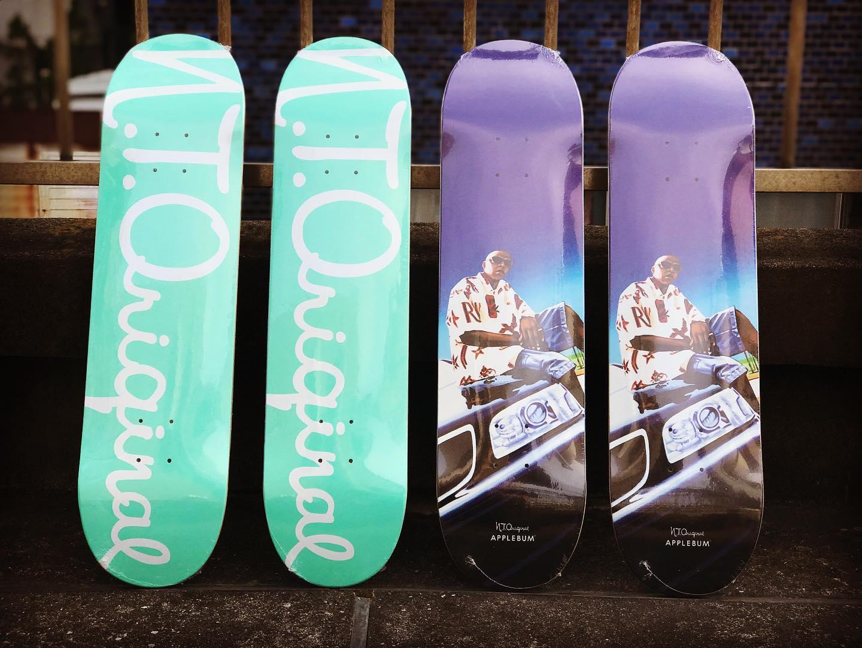 "・New @n.t.original Decks""Logo 1837"" Skateboard Deck7.75 × 31.3 &  8.0 × 31.4""Dead President"" Skateboard DeckCollaboration with @applebum_tokyo8.0 × 31.4 &  8.25 × 31.5.#ntoriginal  #applebum"