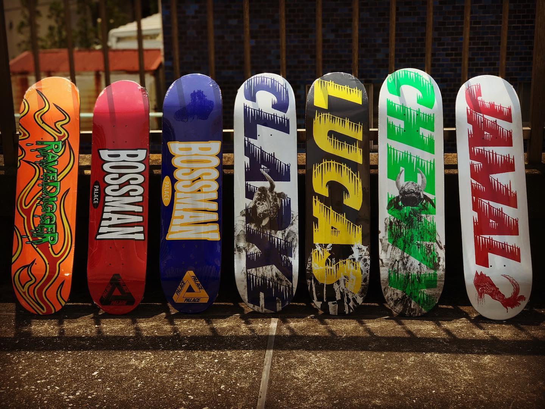 ・New @palaceskateboards AUTUMN 2020 DECKS#palaceskateboards