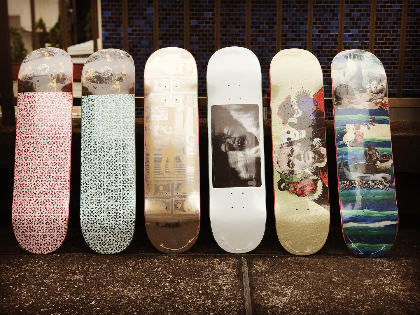 ・New @fuckingawesome decks.