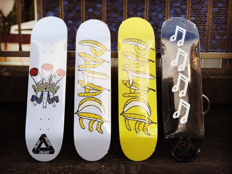 ・New @palaceskateboards decks.