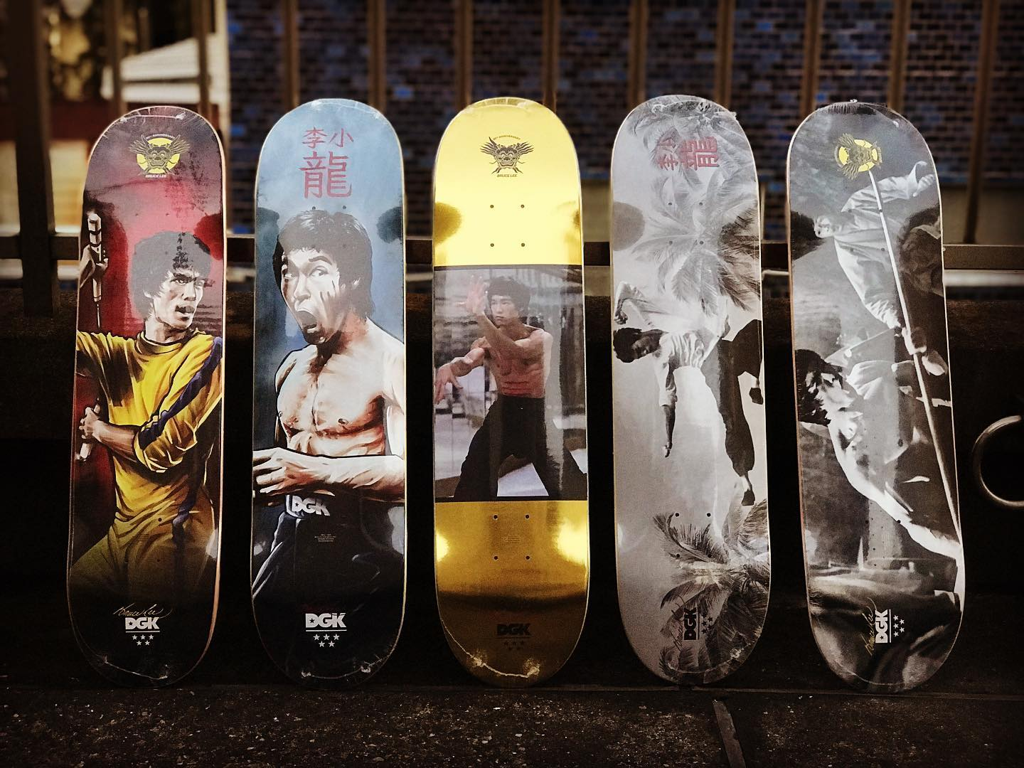 ・New @dgk decks.・・・Return of the DragonDgk x @brucelee