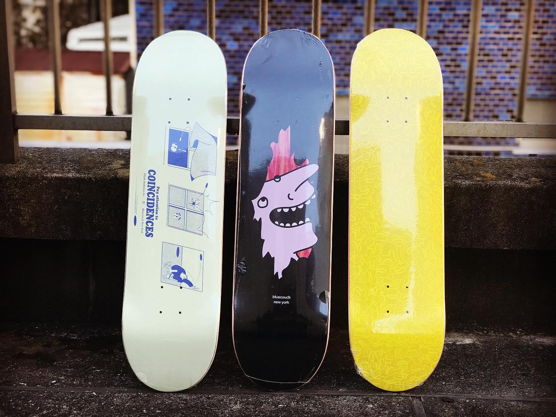 ・New @bluecouch_ny decks.