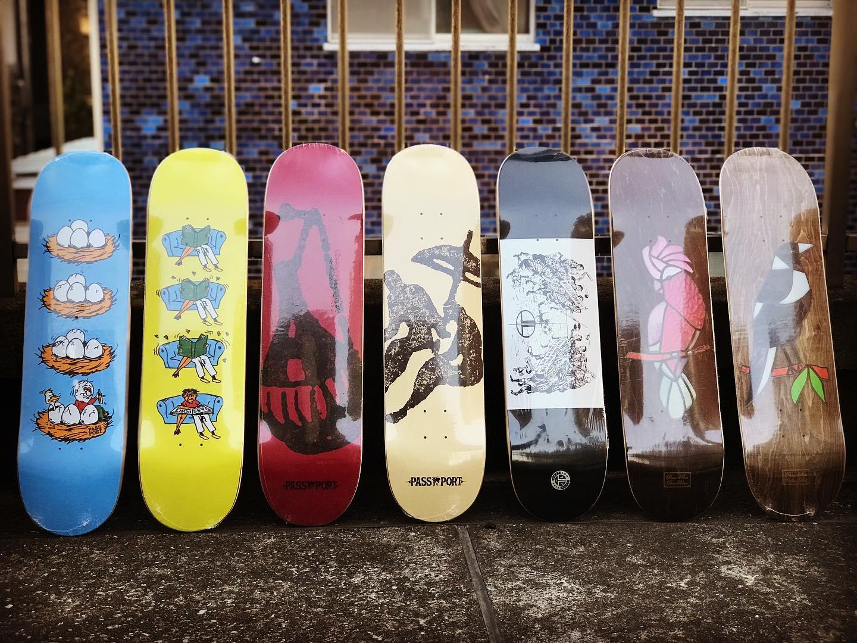 .New @pass_port decks.