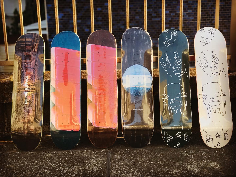 ・New @hoppsskateboarding decks.