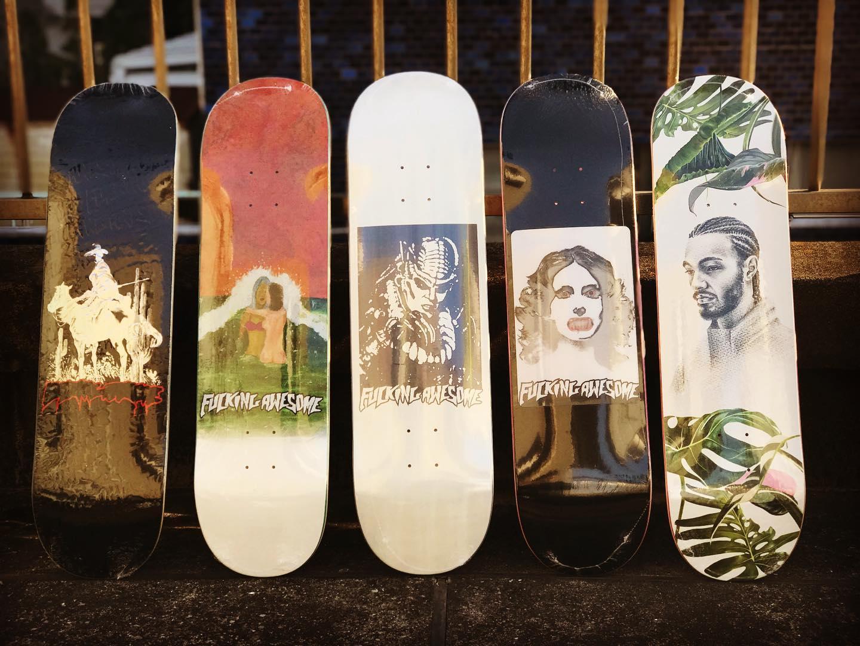 ・@fuckingawesome New decks.