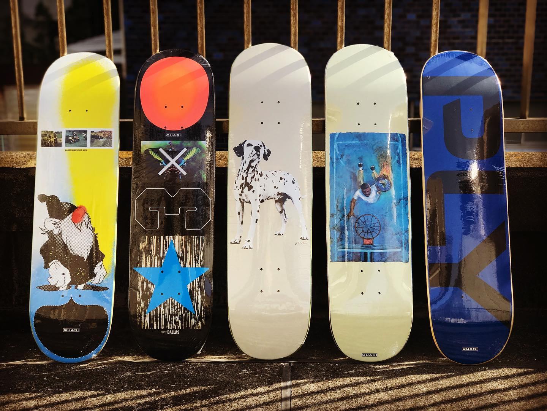 ・New @quasiskateboards decks.@wukeeper の1stProモデルもリリース