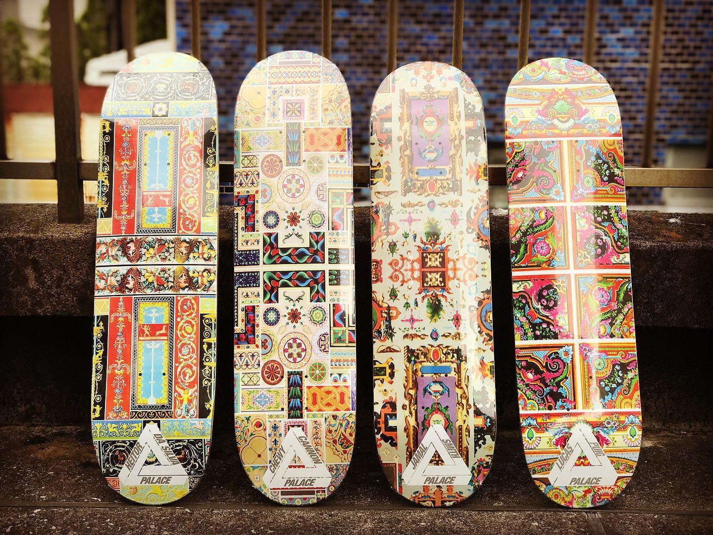 ・ New @palaceskateboards decks.