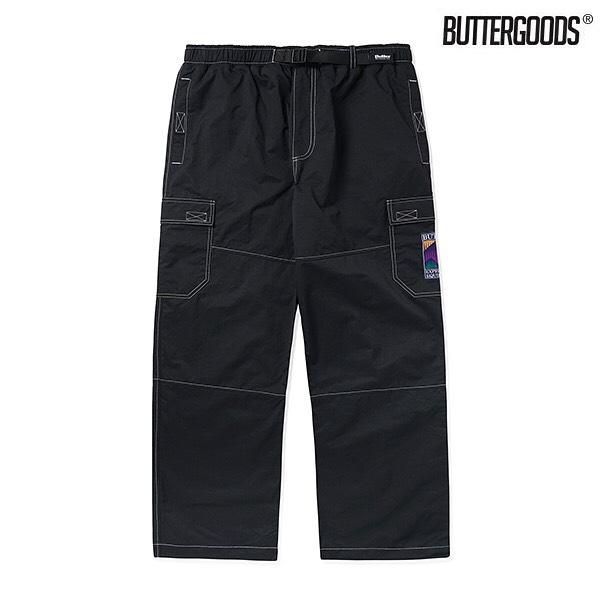 BUTTER GOODS / SUMMIT CARGO PANTS BLACK2008年、スケートショップのマネージャーだった、ガース・マリアーノとフィルマーのマット・エバンスが立ち上げたオーストラリア発の @buttergoods