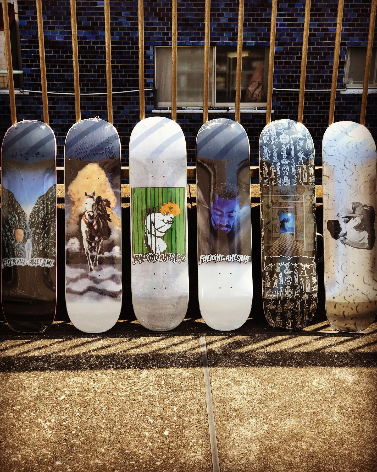 ・ New @fuckingawesome decks.
