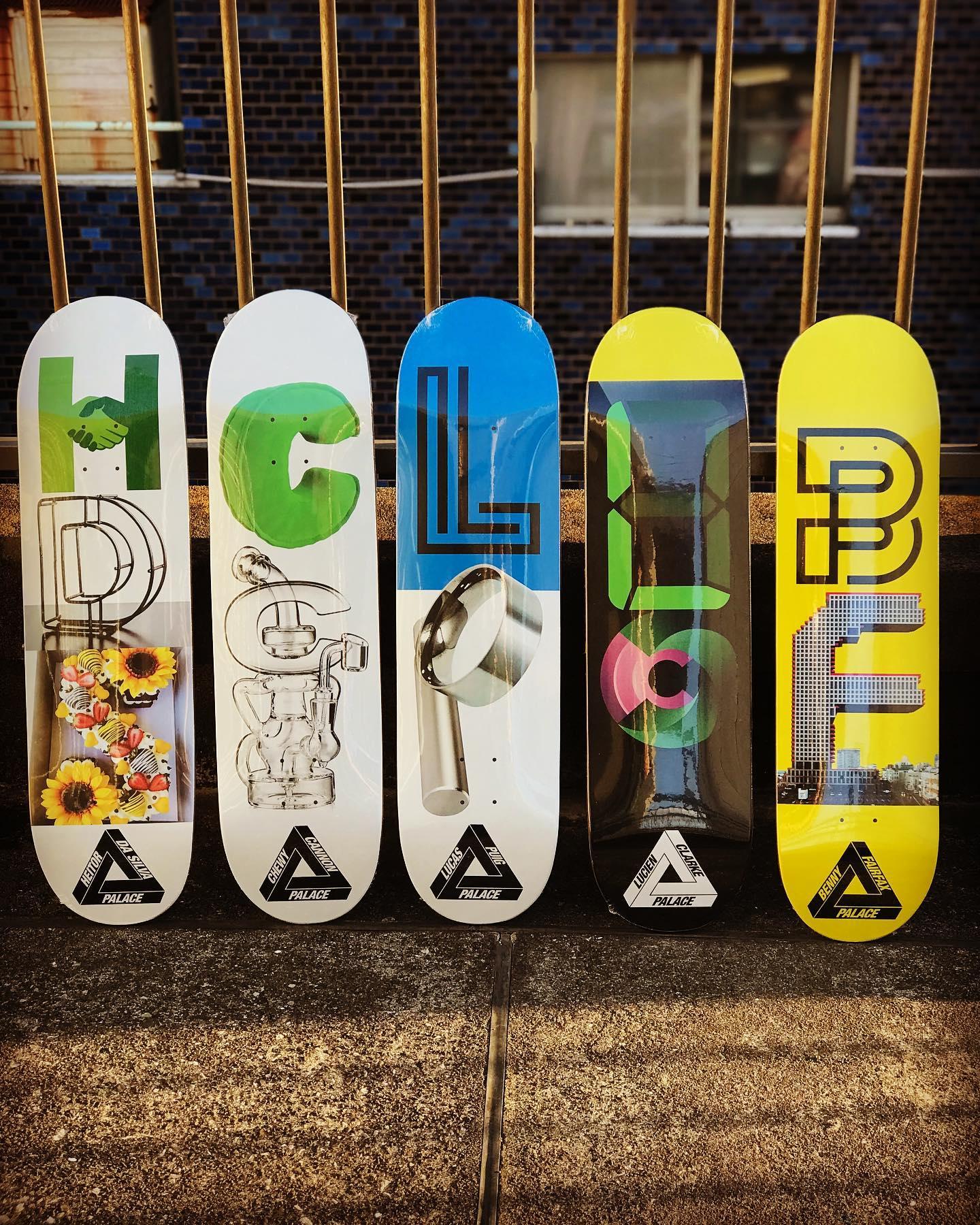 ️New @palaceskateboards decks.2010年にLev Tanju(レヴ・タンジュ)が立ち上げたイギリス発スケートカンパニー「PALACE SKATEBOARDS/パレス」パレスが作り出す世界観はスケーター以外にも影響を与え、世界中から高い注目を集めるスケートブランドです。