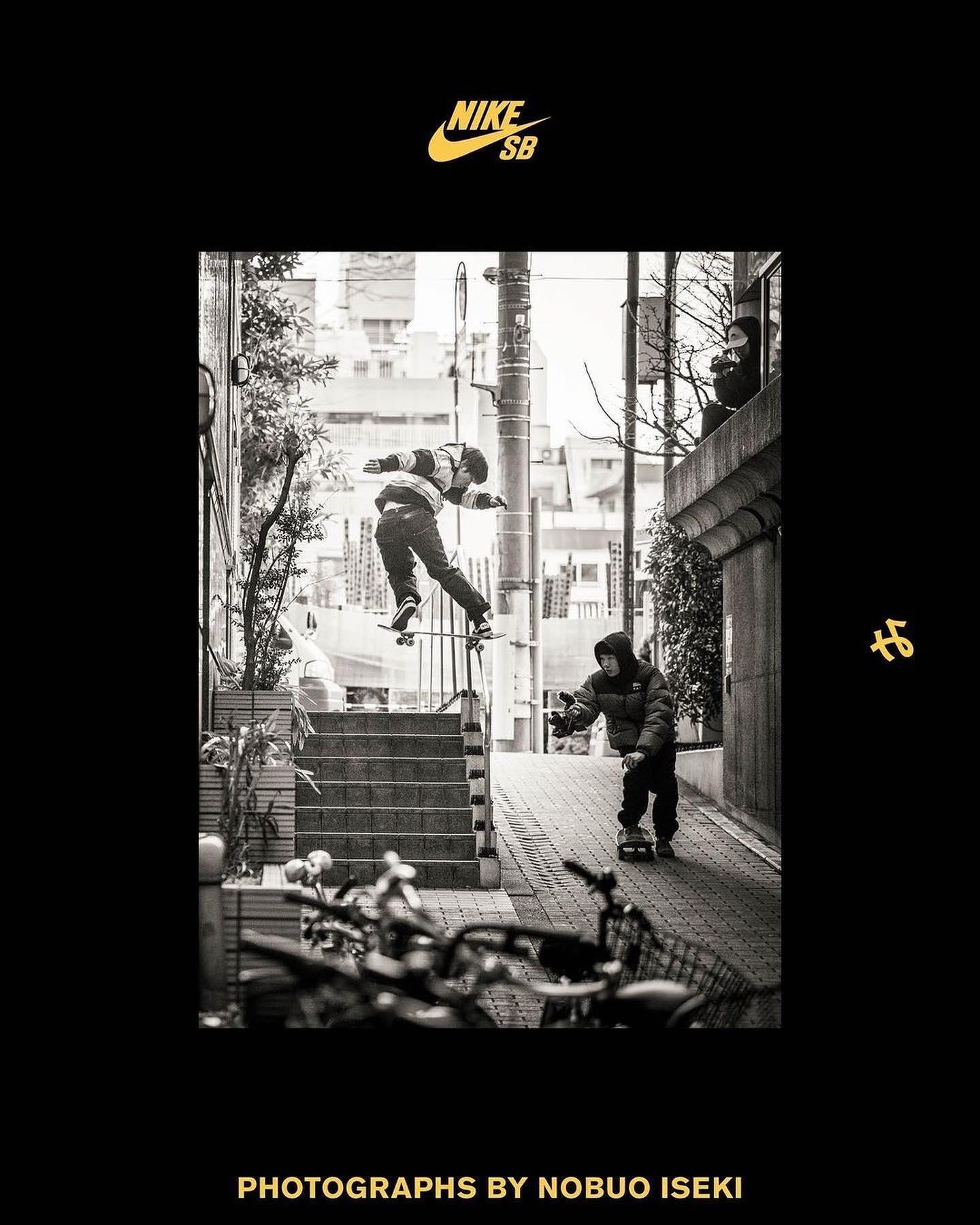 【8月16日(月)発売】『つまみ:TSUMAMI』スケートボード界屈指のフォトグラファー 井関 信雄氏 @nobuoiseki が約2年間に渡りNike SB Japan のスケーターたちに帯同し、撮影した作品を収めたフォトブック『つまみ:TSUMAMI』がまもなく発売。東京、大阪、沖縄、台湾等を舞台に撮影された304ページの超大作。スケートやオフショット、風景写真など様々な角度からのリアルなスケートボードが詰まっています。スケーターのみならず、Nike SBファンにとってもアーカイブとして持っておきたい一冊となっております。Instantでは限定カラーカバーのブラックでのお取り扱いとなります。表紙は堀米雄斗のBs 180 Nose Grind. InstantライダーのT4も出演しています。【出演スケーター】池慧野巨 @k_pan_ 堀米雄斗 @yutohorigome 白井空良 @sora_shirai 本橋 瞭 @ryomotohashi 戸倉大鳳 @taihoutokura 北詰隆平 @ryuhei_kitazume 奥野健也 @kenyask8 森中一誠 @isseimorinaka and more guest skaters.────────────────〈Faire〉8/16-8/31の期間中、代官山TSUTAYA 2号館1階アートフロア & 3号館2階Session:にて、「Nobuo Iseki Photo Exhibition」を開催予定︎ 作品展示とともにスケートボードの魅力に浸れる空間、この機会をお見逃しなく。