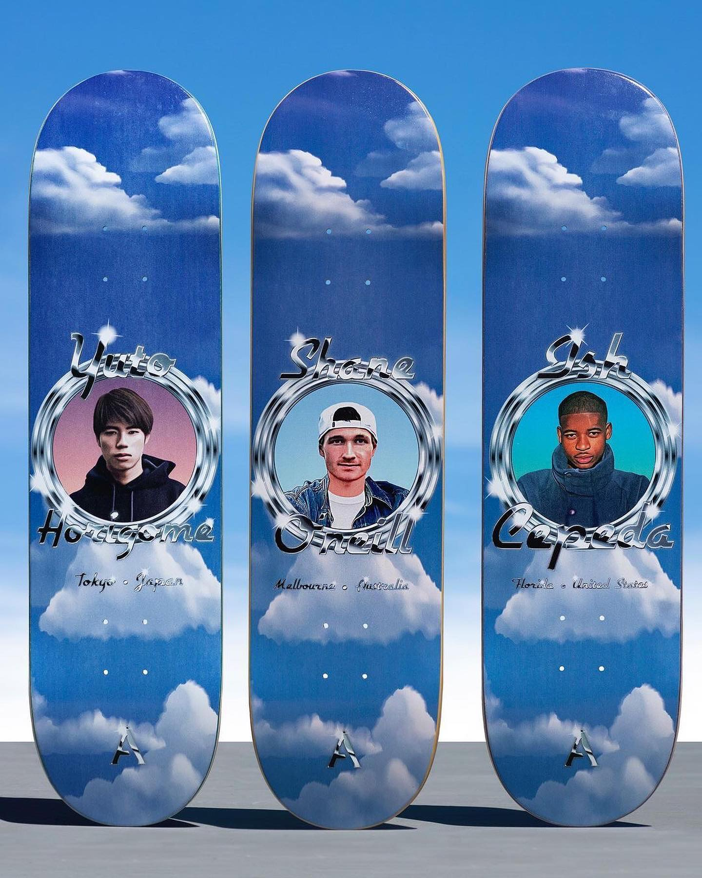 8月29日(日)PM12:00発売New @aprilskateboards decks.