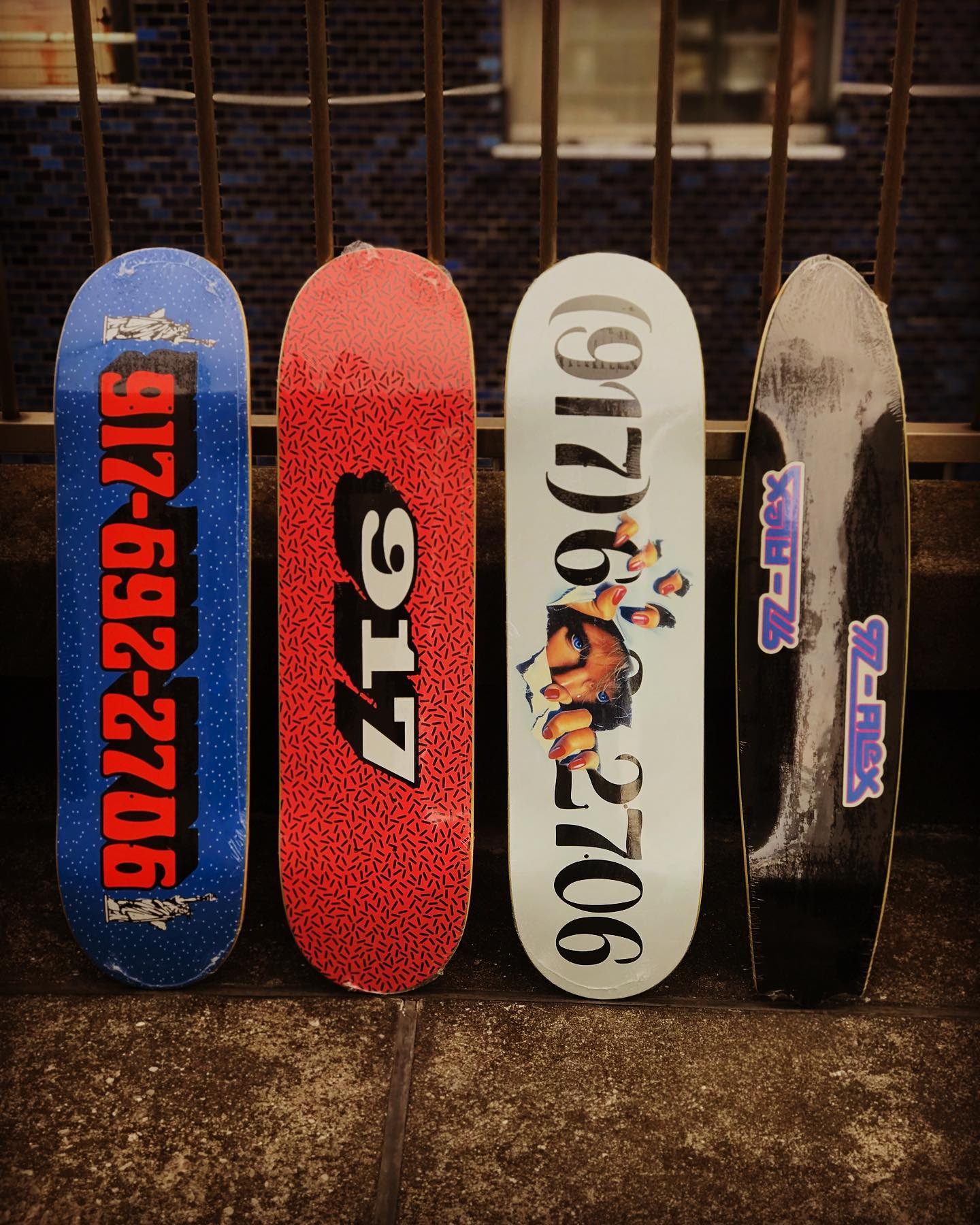 New @callme917 decks.